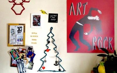 DIY : Le sapin de Noël en tricotin