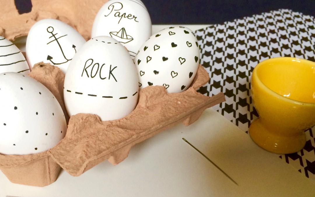 DIY : Des oeufs de Pâques façon Fortune Cookie