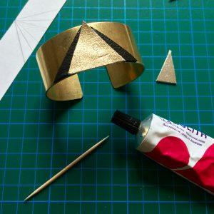 DIY-bracelet-laiton-cuir- tuto-6