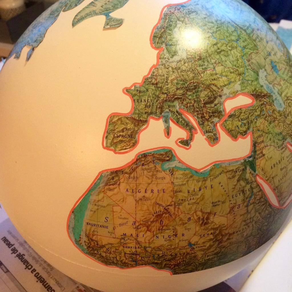 redessinez les continents