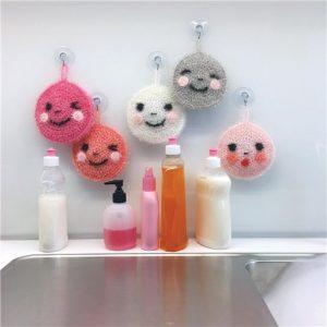 bubble creative pour faire des eponges tawashi mignonnes