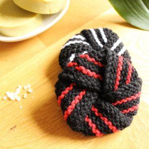 eponge tawashi tricotées