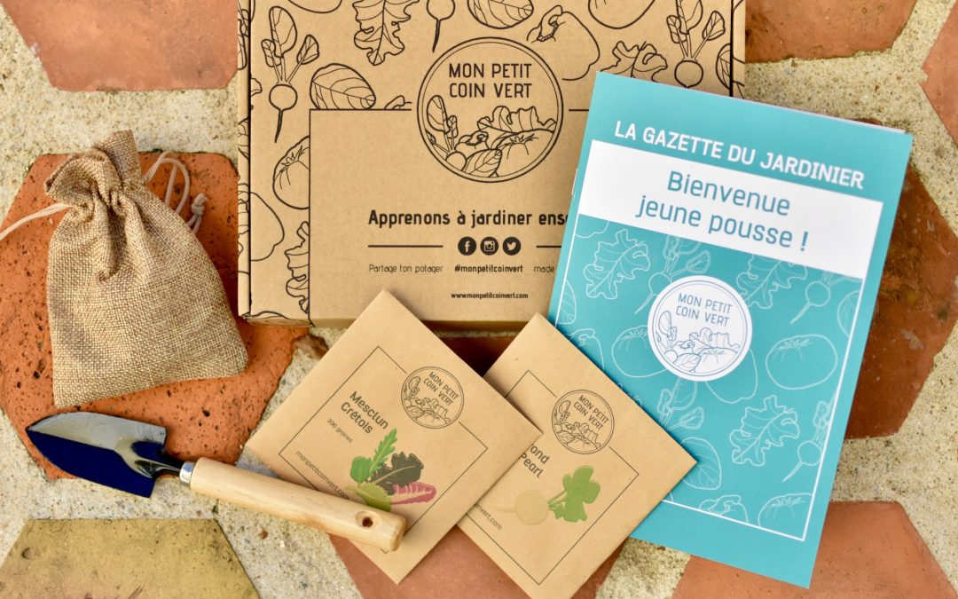 Mon petit coin vert : une box pour jardiner