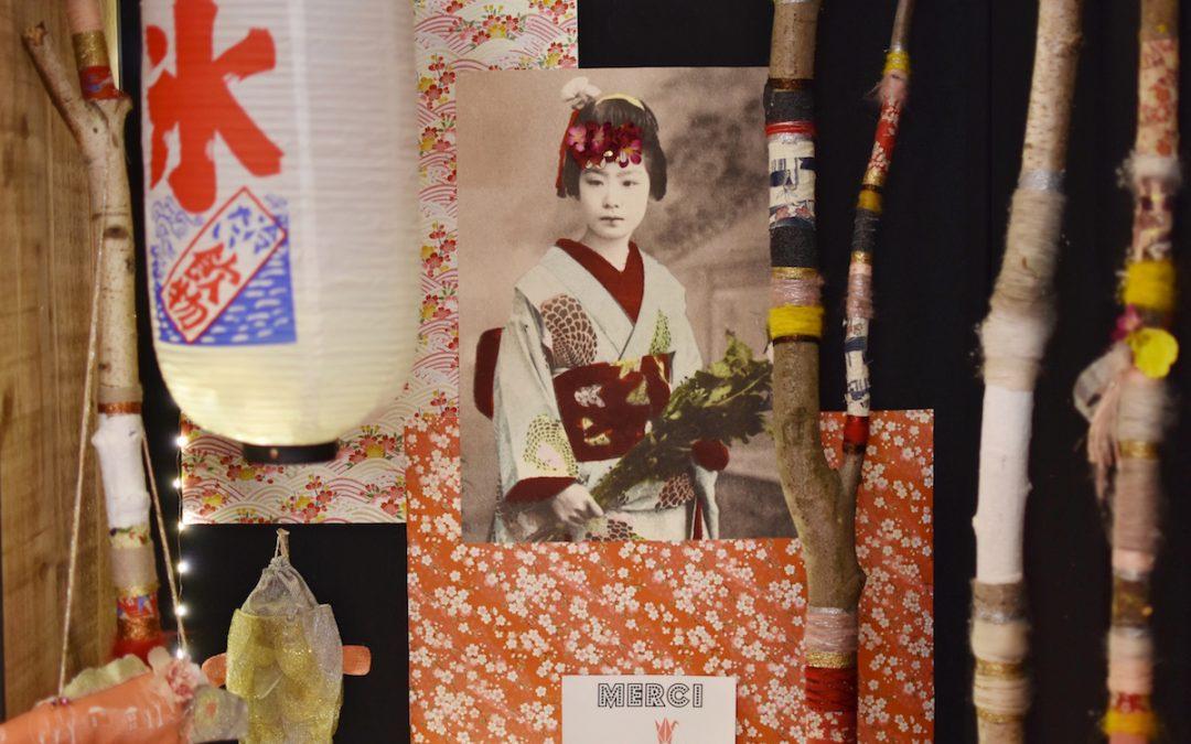 Inspiration japonaise au salon Créations et Savoir-Faire 2018