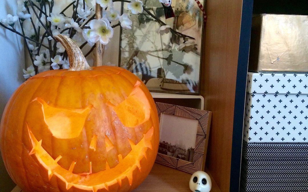Diy La Citrouille D Halloween Rock And Paper