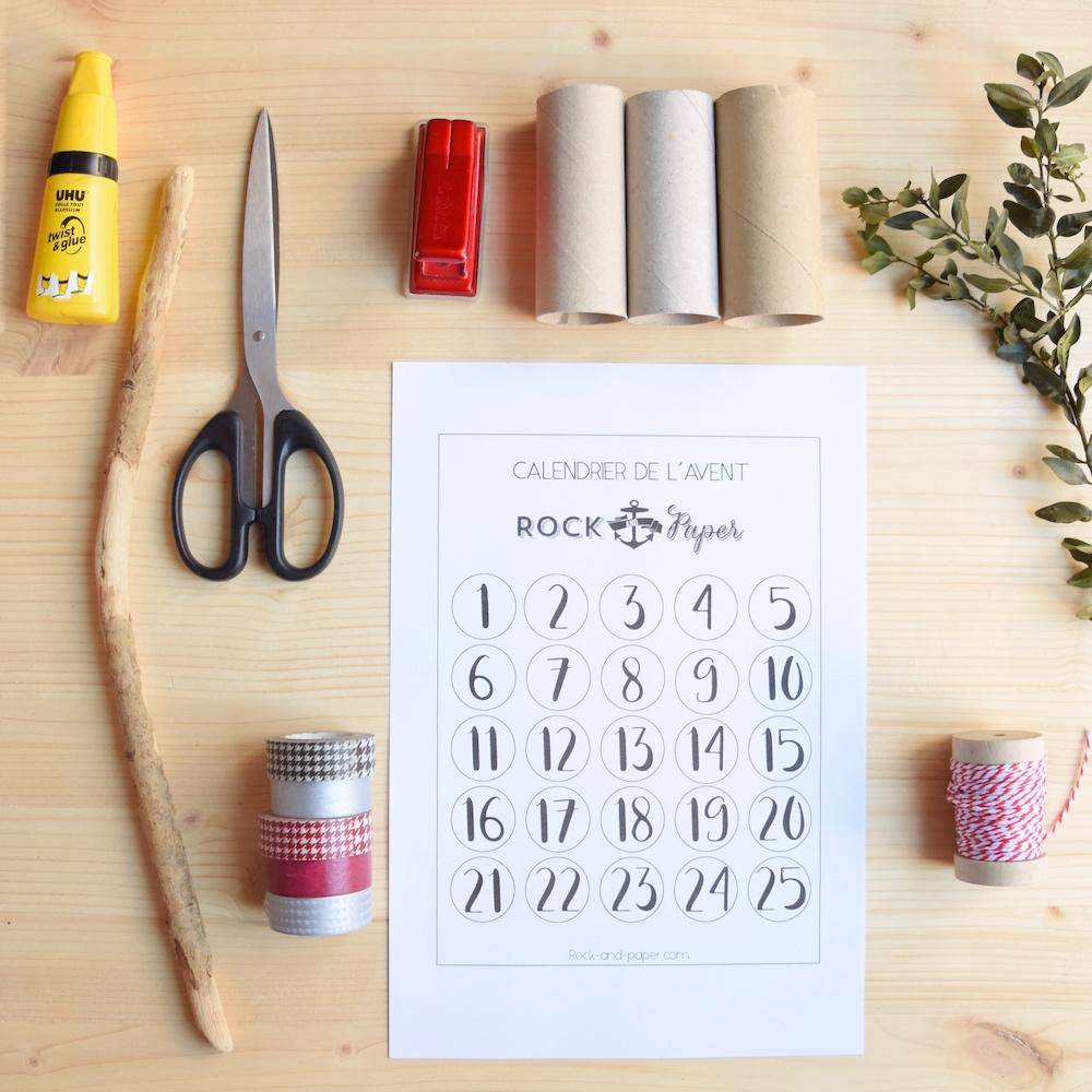 Calendrier De L Avent À Fabriquer Soi Même un calendrier de l'avent facile à faire soi-même et
