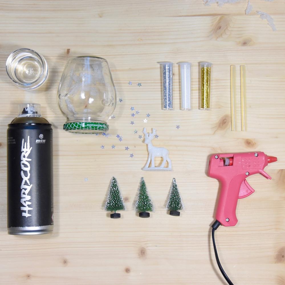 Comment Faire Des Boule A Neige faire une boule à neige soi-même avec un pot en verre - rock