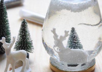 boule à neige de noel