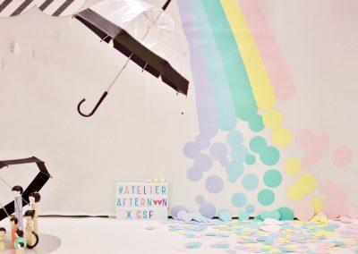 arc en ciel en papier