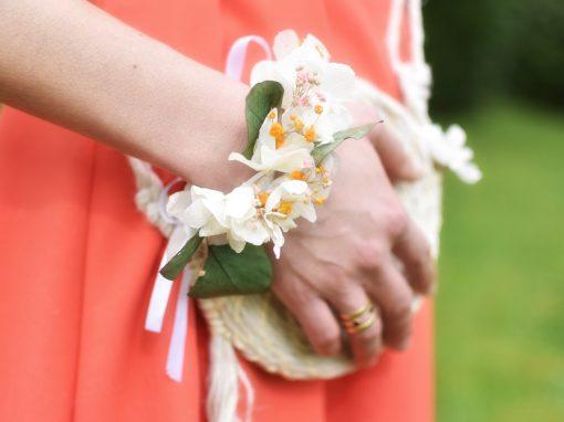 Atelier bracelet de fleurs séchées